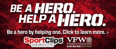 Sport Clips Haircuts of Frederick - Westview Village​ Help a Hero Campaign